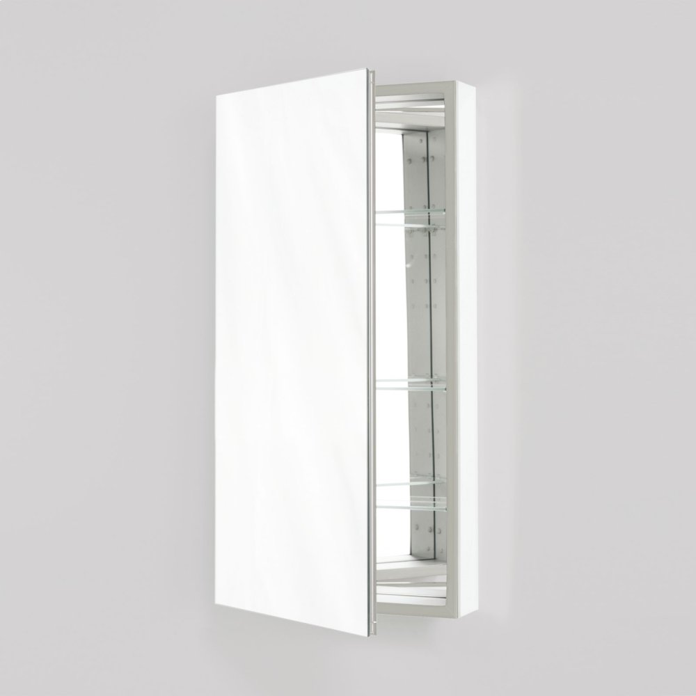 "Additional M Series 11-1/4"" X 39-3/8"" X 4"" Flat Top Cabinet With Polished Edge and Left Hinge"