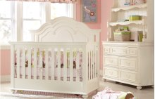 RED HOT BUY! Charlotte Convertible Grow With Me Crib