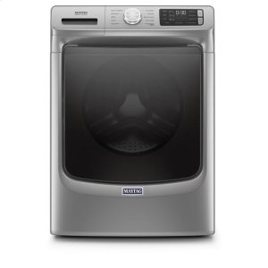 MaytagMaytag(R) Front Load Washer with Extra Power and 12-Hr Fresh Hold(R) option - 4.5 cu. ft. - Metallic Slate