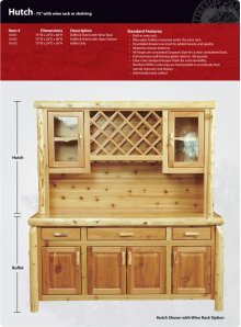 """Buffet and Hutch - 75"""""""