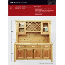 Buffet and Hutch - 75""
