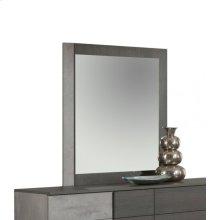 Nova Domus Palermo Italian Modern Faux Concrete & Grey Mirror