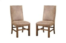 Emerald Home Chambers Creek Side Chair W/nailhead Fully Upholstered Brown D412-20
