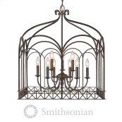 Smithsonian Gateway 9 Light Chandelier in Fired Bronze