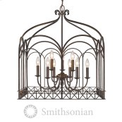 Smithsonian Gateway 9 Light Chandelier in Fired Bronze
