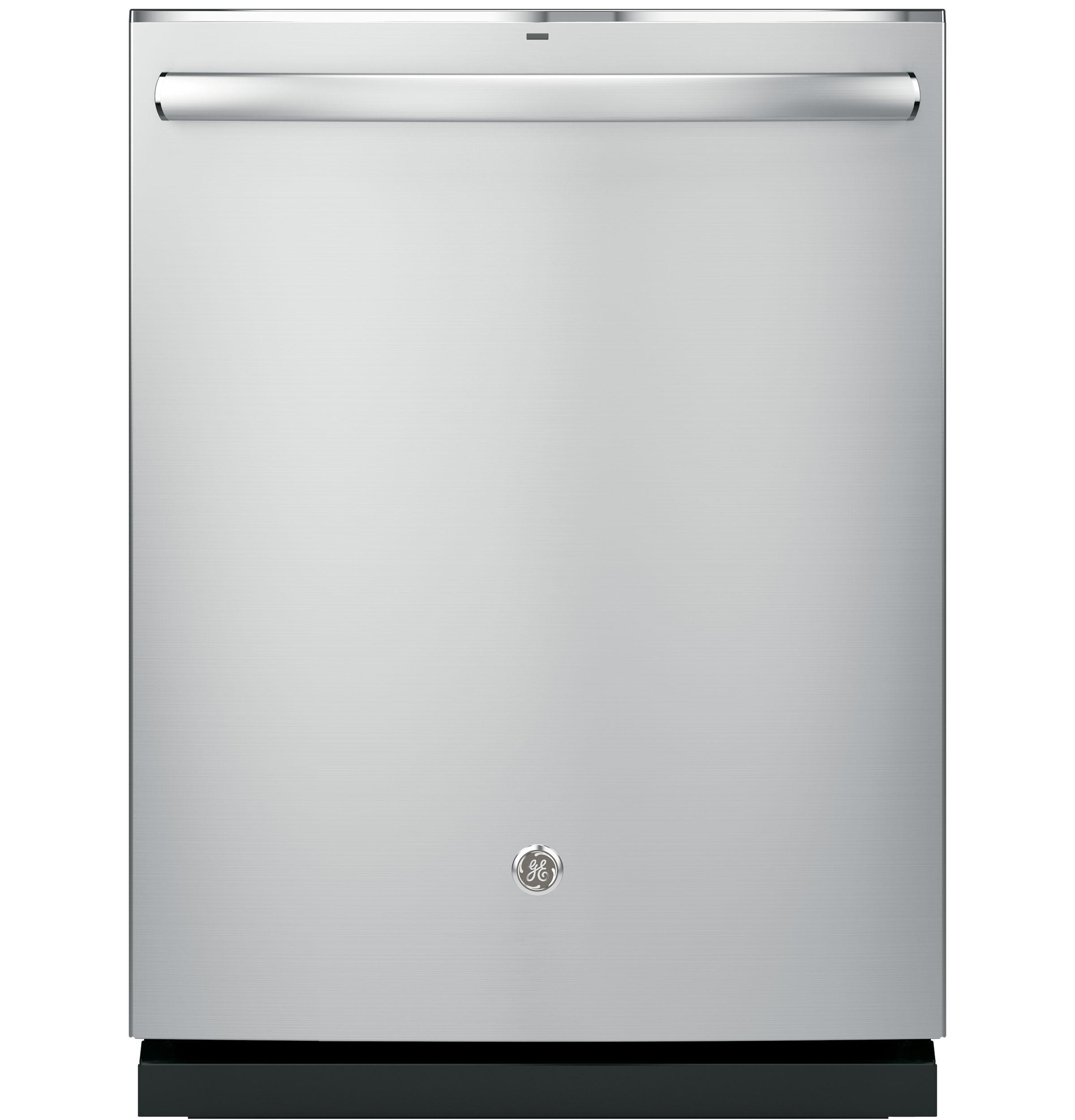 GE(R) Stainless Steel Interior Dishwasher with Hidden Controls