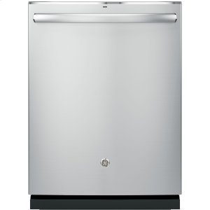 GE ProfileGE PROFILEGE Profile™ Stainless Steel Interior Dishwasher with Hidden Controls