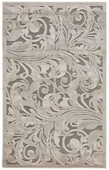 Graphic Illusions Gil01 Gycam Rectangle Rug 3'6'' X 5'6''
