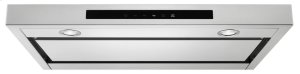 """36"""" Low Profile Under-Cabinet Ventilation Hood - Stainless Steel"""