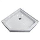 White Neo-Angle Shower Base Product Image