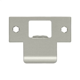 "Extended T-Strike (2-3/4""x 2"") - Brushed Nickel"