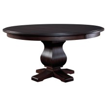 """60"""" Solid Top**6/4 Thick Top** Pedestal Table"""