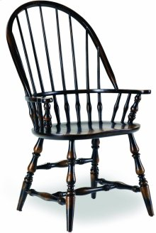 Sanctuary Windsor Arm Chair-Ebony