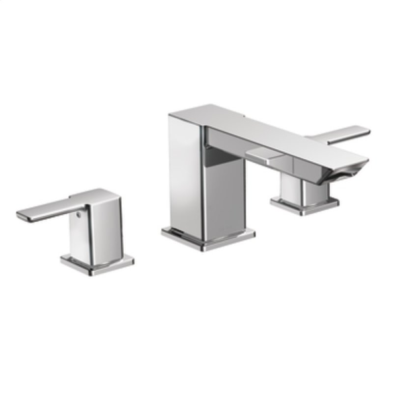 TS903 in Chrome by Moen in Orlando, FL - 90 Degree chrome two-handle ...