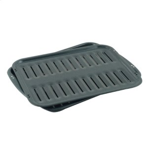 Porcelain Broiler Pan & Grid -