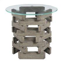 Emerald Home Jenga End Table Driftwood T833-01-k