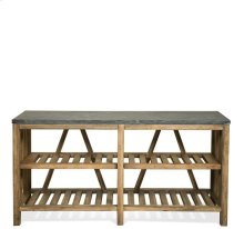 Weatherford Table Top 137 lbs Reclaimed Natural Pine finish