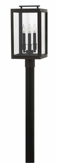 Oil Rubbed Bronze Sutcliffe Hospitality Post & Pier Mount