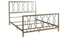Metal Bed In Elegant Bronze Finish