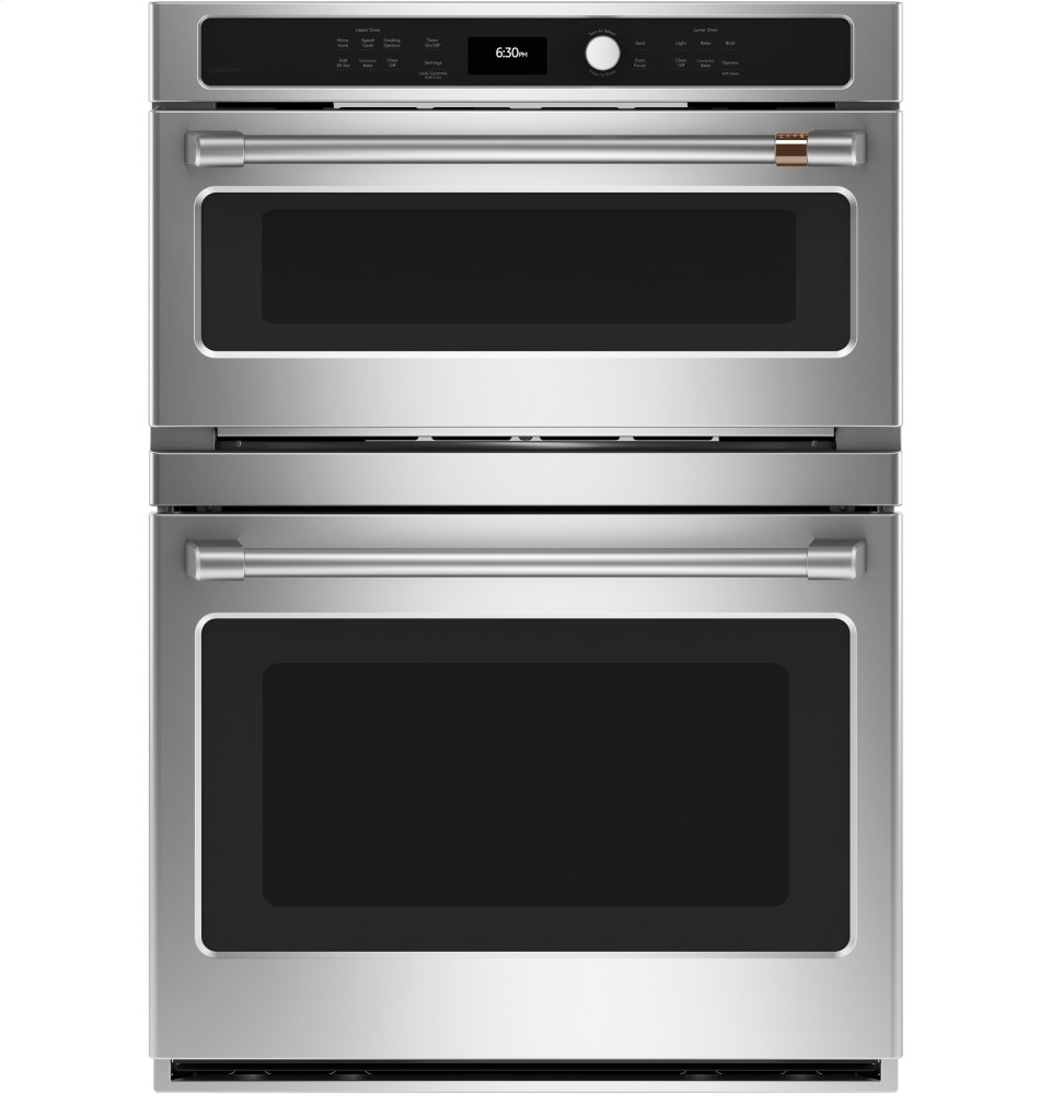 Cafe AppliancesCaf(eback) 30 In. Combination Double Wall Oven With Convection And Advantium (R) Technology