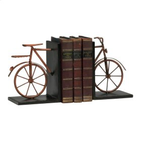 Bicycle Bookends S/2