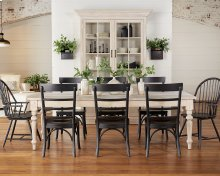 Benfield Dining Table with Squires & Harper Chairs