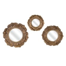 Wanderings Wall Mirrors - Set of 3