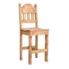"""30"""" Wood Seat Barstool"""