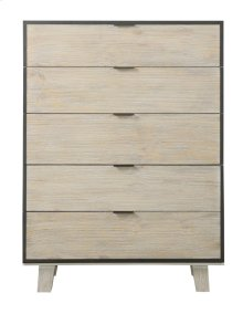 Emerald Home Synchrony 5 Drawer Chest Washed Linen B112-05