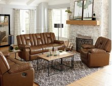 Manual Motion Leather Sofa