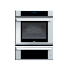 "30"" MASTERPIECE SERIES STAINLESS STEEL COMBINATION OVEN WITH TRUE CONVECTION OVEN AND A WARMING DRAWER"