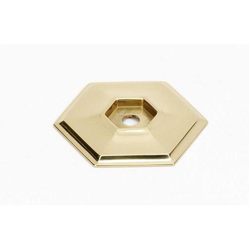 Nicole Backplate A426 - Polished Brass