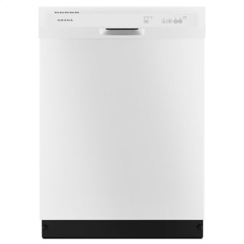 Amana® Dishwasher with Triple Filter Wash System - White