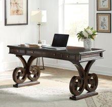 "66"" Scroll Leg Writing Desk"