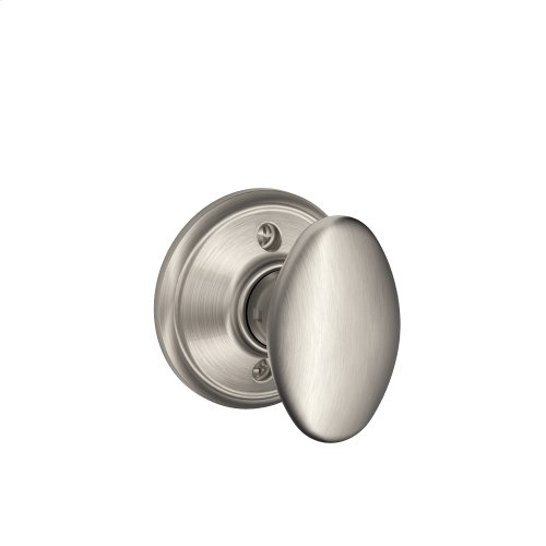 Siena Knob Non-turning Lock - Satin Nickel