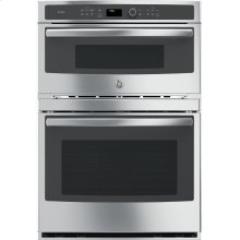 """30"""" Built-In Combination Convection Microwave/ True European Convection Oven"""