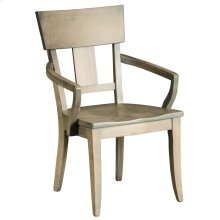 Thea Arm Chair - Wood Seat