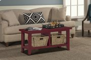 Tuscan Retreat® Blanket Bench - Antique Red Product Image