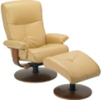 R-634 Nexus Butter Leather Recliner Product Image