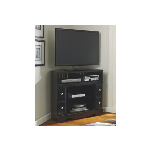 W27112 By Ashley Furniture Corner Tv Stand Fireplace Opt Rent King