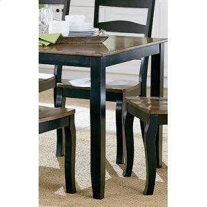 Leg Table, W-6 Chairs