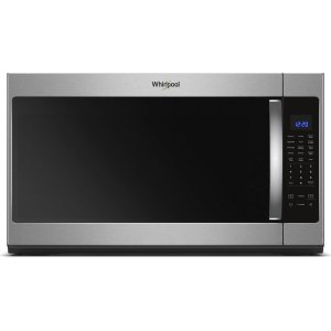 2.1 cu. ft. Over-the-Range Microwave with Steam cooking - FINGERPRINT RESISTANT STAINLESS STEEL