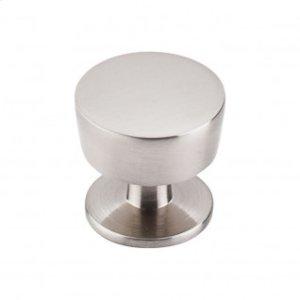 Essex Knob 1 3/16 Inch - Brushed Satin Nickel