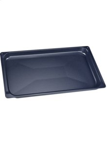 Baking tray, enameled