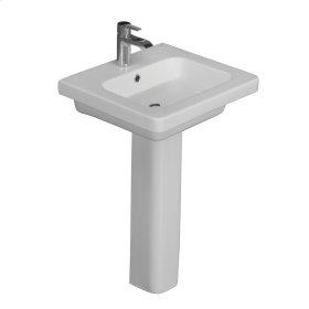 Resort 550 Pedestal Lavatory - White