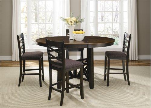 74-4866/B300124  5 Piece Gathering Pub Table Set