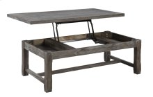 Emerald Home Paladin Lift Top Cocktail Table Rustic Charcoal T3504