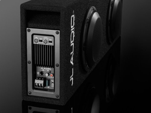 Dual 8W3v3 MicroSub+ with DCD Amplifier, Ported, 0.20