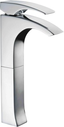AB1587 Tall Brushed Nickel Single Lever Bathroom Faucet
