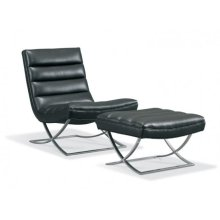 L3185-A1 Felix Leather Armless Chair